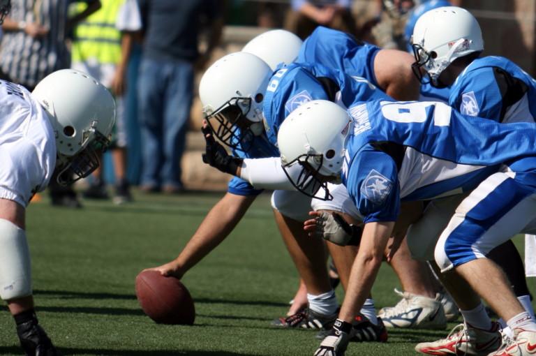 CTE injury during football game